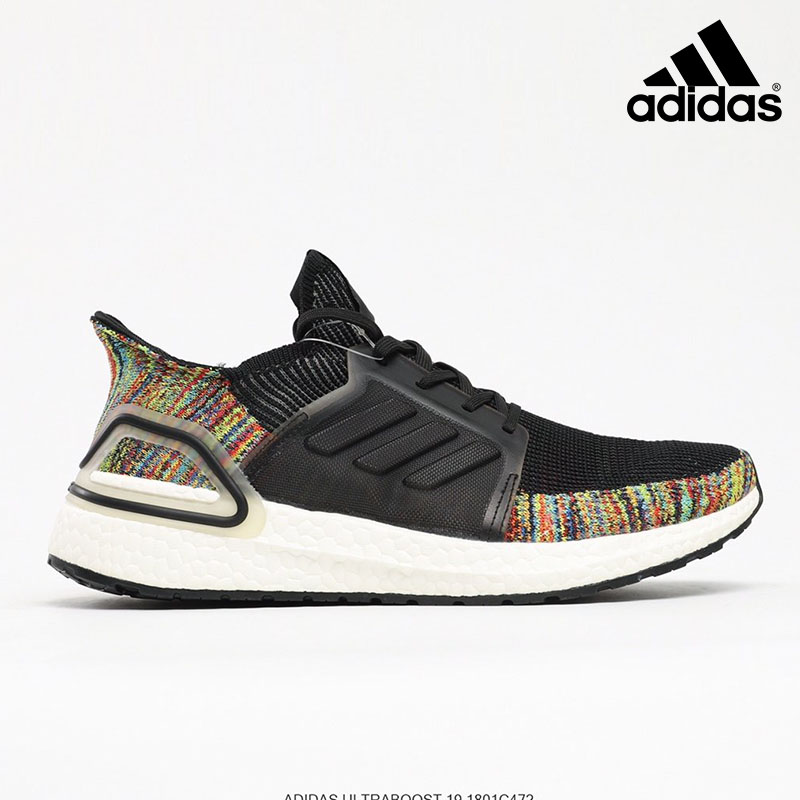 Adidas Ultra Boost White Multi-Color 'Dark Pixel' - B37706