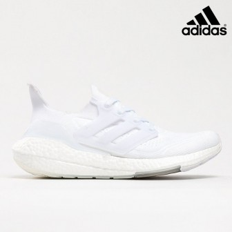 Adidas Ultra Boost 21 Triple 'CLOUD WHITE'