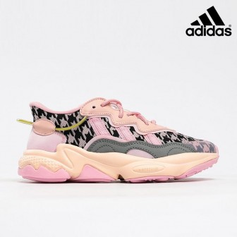 Adidas Originals Ozweego 3M Pink Black Grey