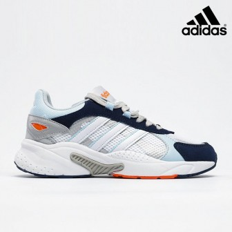 Adidas neo Crazychaos Shadow 'WHite Black Blue' Marathon Running Shoes