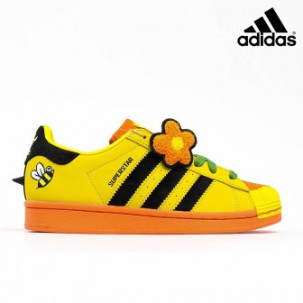 Adidas Superstar Melting Sadness Bee Yellow Core Black Super