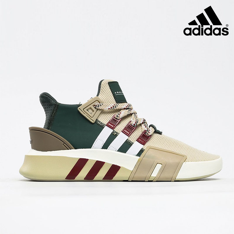 Adidas EQT Bask ADV Clear Brown Cloud White Collegiate Burgundy - F33854