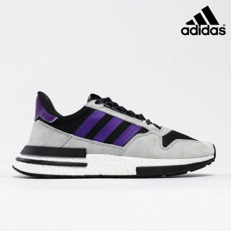 Adidas X ZX 500 RM in 'Black Purple'