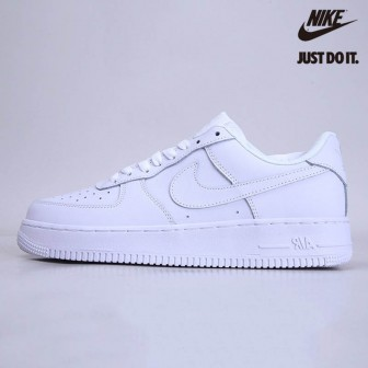 "Nike Air Force 1 Low 07 ""White on White"""