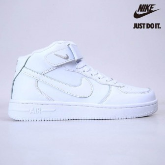 Nike Air Force 1 '07 Mid White 'Plus velvet'