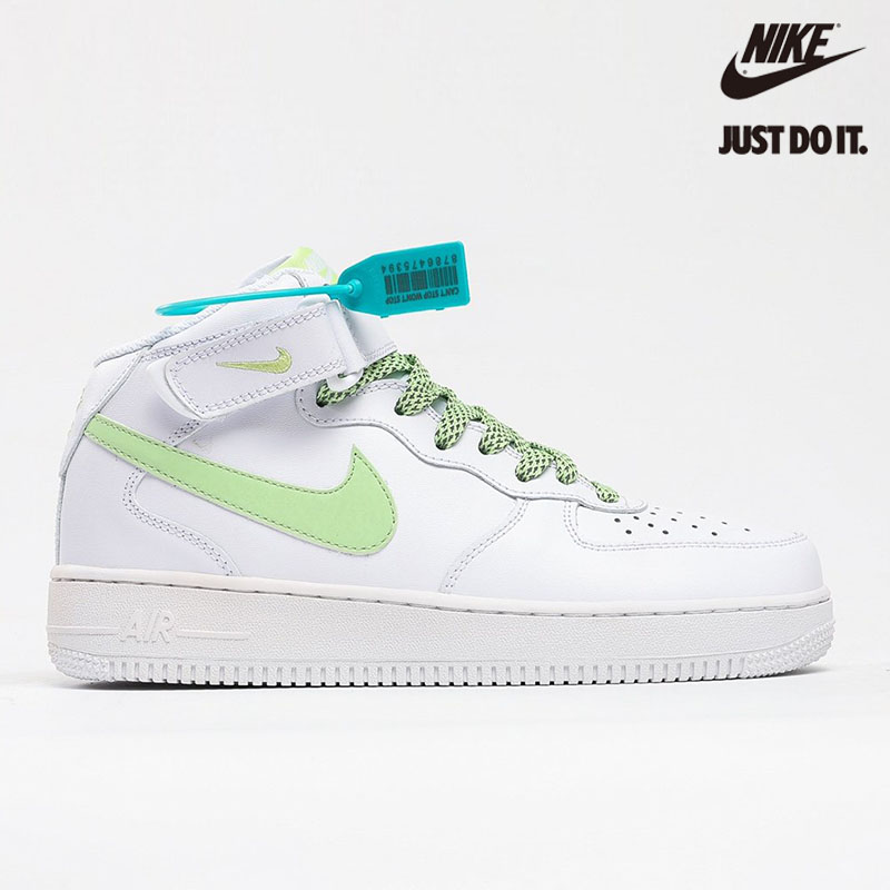 Nike Air Force 1 Mid 07 White Apple Green - 366731-910