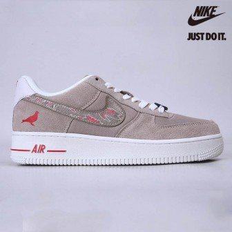 Nike Air Force 1 Low Sbtg X Staple Pigeon Fury In Grey/pink-sail