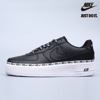 Nike Air Force 1 Premium Low Logo Ribbon Pack Black