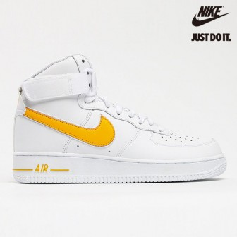Nike Air Force 1 High White University Gold