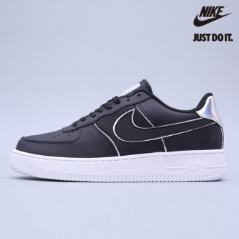 Nike Air Force 1 Low '07 LV8 'Black Iridescent Outline'