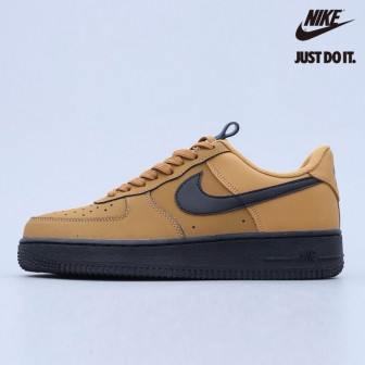 Nike Air Force 1 Low Wheat Black Midnight Navy