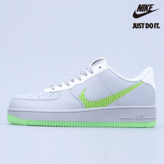 Nike Air Force 1 Low Wolf Grey Ghost Green