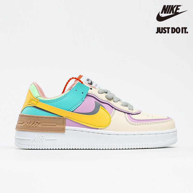 "Nike Air Force 1 Shadow ""Tropical Twist"" - CI0919-101"