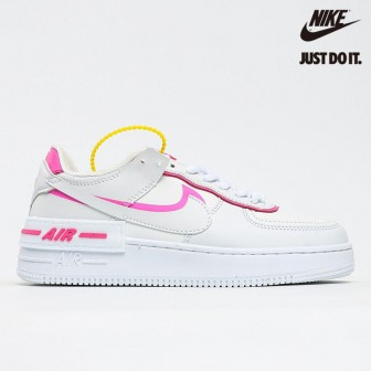 Nike Air Force 1 Shadow White Magic Flamingo