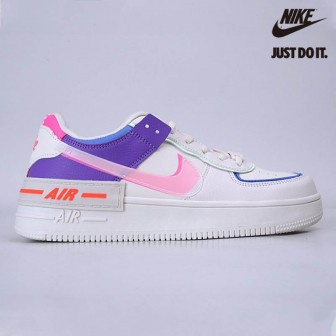 Nike Air Force 1 Shadow Sail Pink Purple Blue