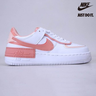 Nike Air Force 1 Shadow White Coral Pink
