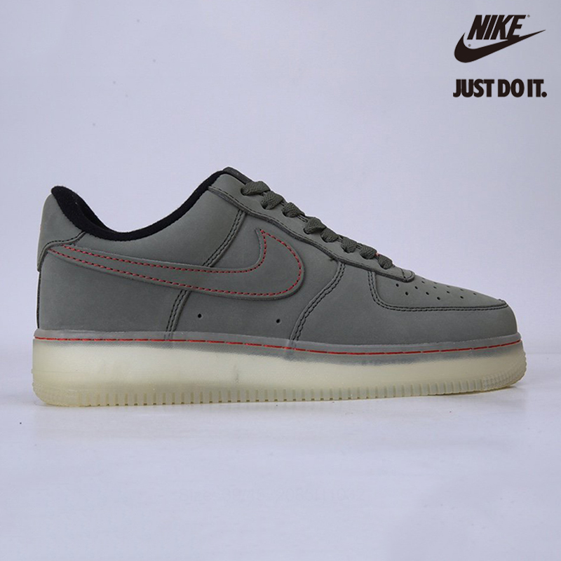 Nike Air Force 1 Low Upstep Olive Green Military Green - CJ6602-255