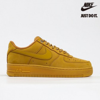 Nike Air Force 1 Low 'Flax' 2019 Brown Wheat Light Gum