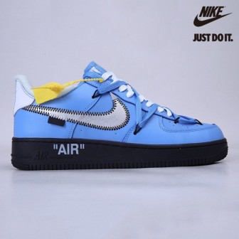 Off-White x Nike Air Force 1 07 Low University Blue/Black-White