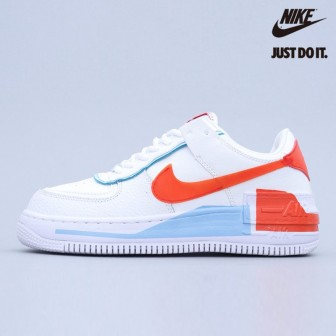 Nike Air Force 1 Shadow Summit White Team Orange