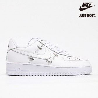 Nike Air Force 1 '07 LX 'Sisterhood - White Metallic Silver'