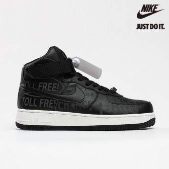 Nike Air Force 1 High '07 Premium 'Toll Free Pack - Black'