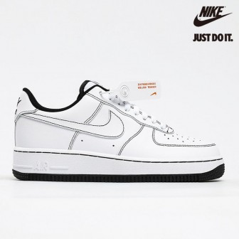 Nike Air Force 1 Low '07 'Contrast Stitching - White / Black'
