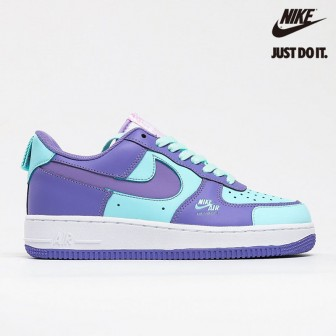 Nike Air Force 1 LV8 Utility Purple Green Lake White