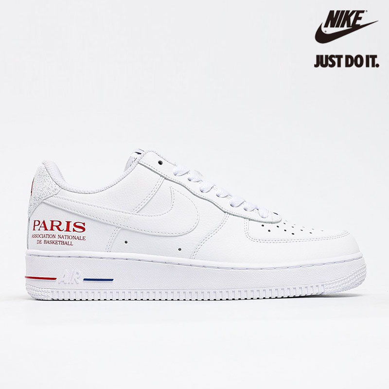 NBA x Nike Air Force 1 Low 'Paris Game 2020' - CW2367-100