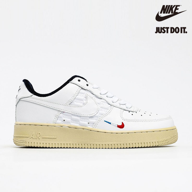 Kith X Nike Air Force 1 Low France Paris White Blue Red - CZ7927-700