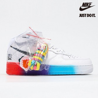C2 OFF White x Air Force 1'07 Vntg Suede Mix