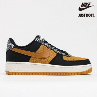 Nike Air Force 1 Low HO20 BG Marble Black Brown Wheat