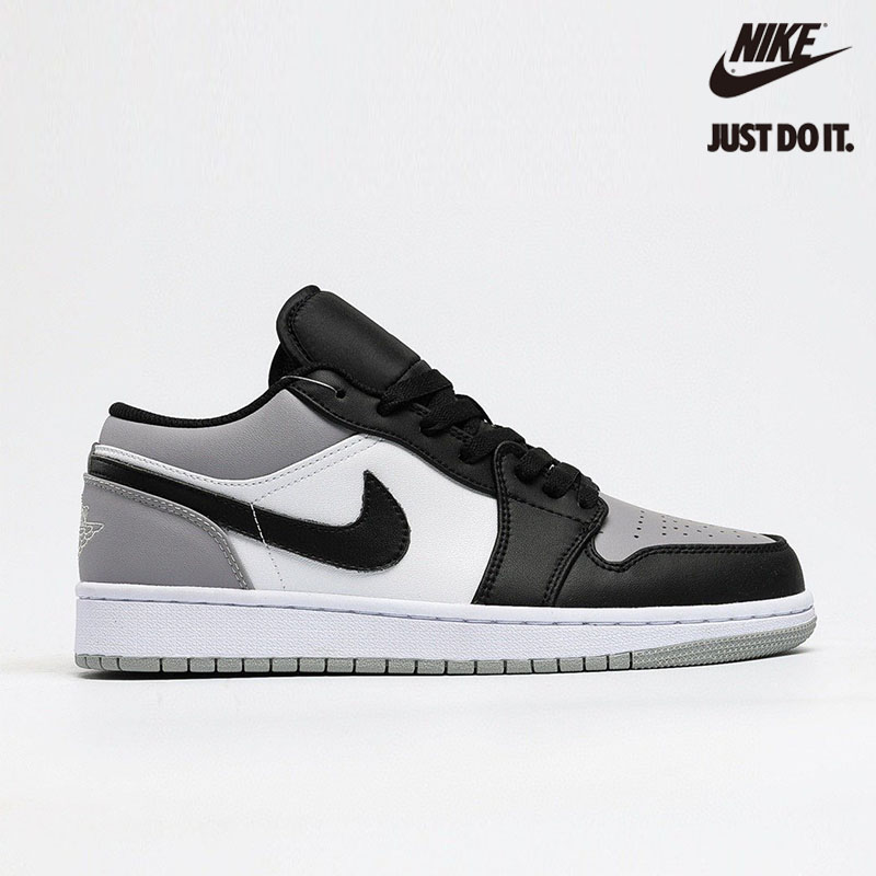 Air Jordan 1 Retro Low 'Atmosphere' Black White - 553558-110