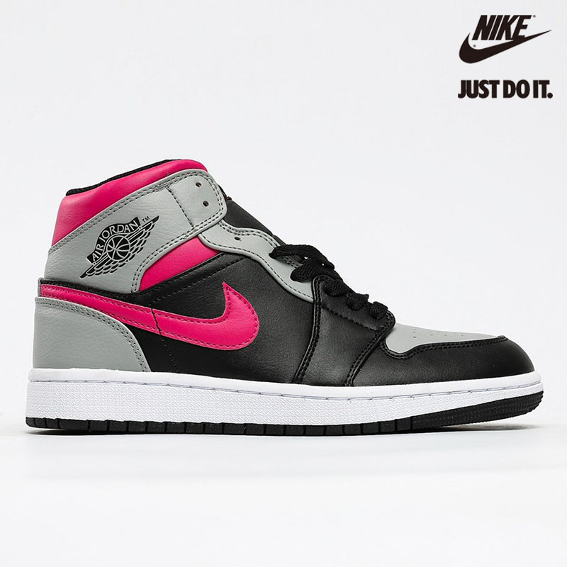 Nike Air Jordan 1 Mid Pink Shadow - 554724-059