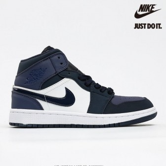 Air Jordan 1 Mid Obsidian Sanded Purple