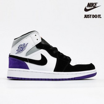 Air Jordan 1 Mid SE 'Varsity Purple' Suede