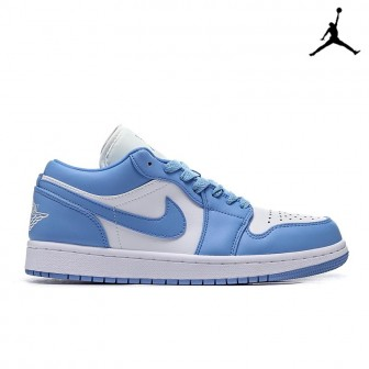 Air Jordan 1 Low 'UNC' Blue White