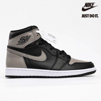 Air Jordan 1 Retro High  TD 'Shadow' Medium Black Grey
