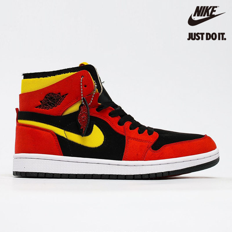 Nike Air Jordan 1 High Zoom Air CMFT Black Chile Red - CT0978-006