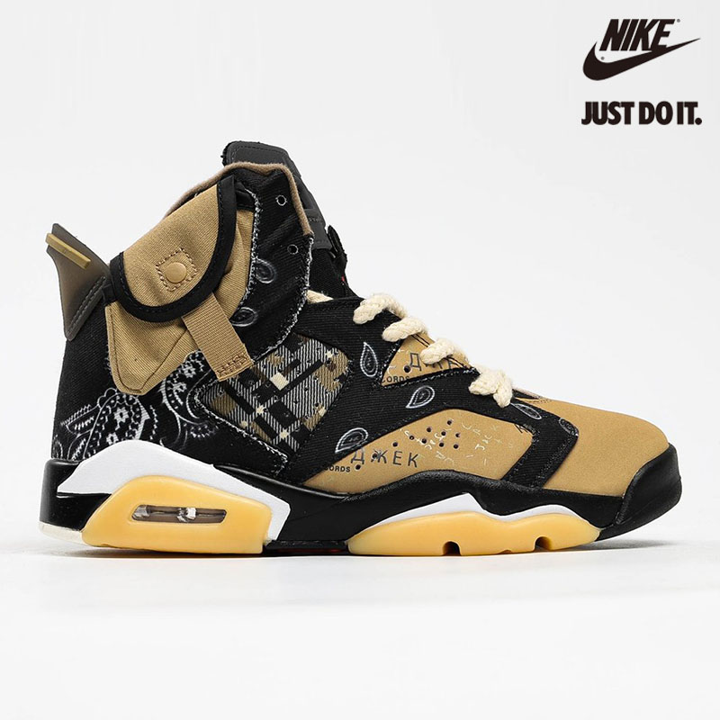 Nike Air Jordan 6 x Travis SCOTT - CT5058-001
