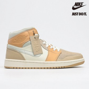 Air Jordan 1 Mid Milan Light Shimmer Sail String Bone
