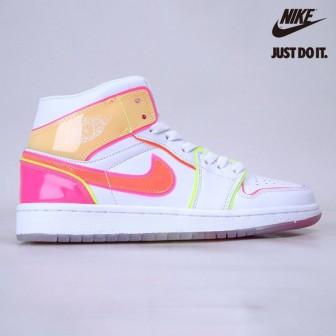 "Nike Air Jordan 1 Mid GS ""Edge Glow"""