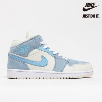 Air Jordan 1 Mid SE 'Sail Light Blue'