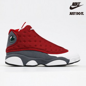 "Air Jordan 13 ""Red Flint"" White"