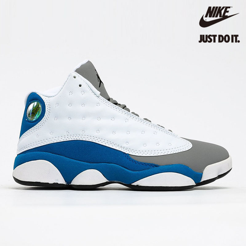 Nike Air Jordan 13 Retro GS 'Italy Blue' - 439358-107
