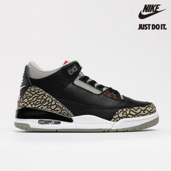 Air Imageisnot Air Jordan 3 Retro 'BLACK CEMENT'