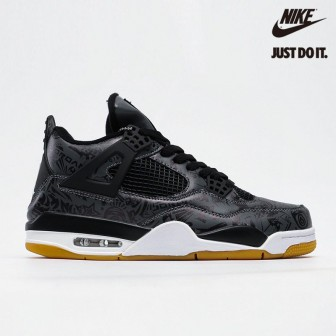 Air Jordan 4 Retro 'Laser' Black Gum