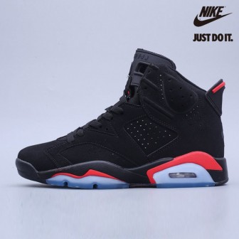 Air Jordan 6 Retro Men's Shoes Black/Infrared