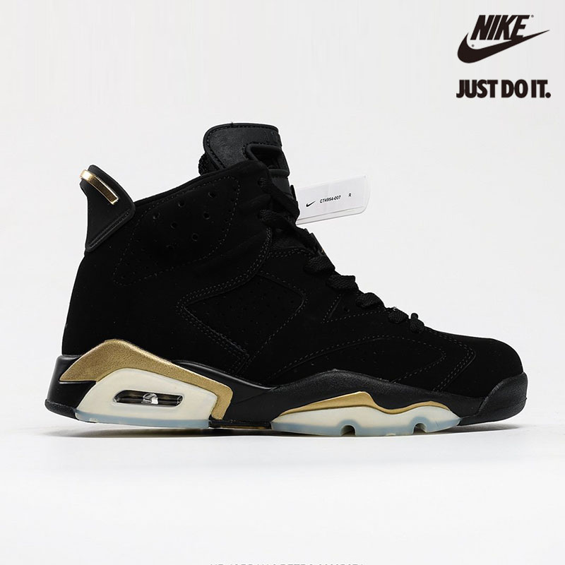 Nike Air Jordan 6 Retro 'Defining Moments' 2020 Black Gold Metallic - CT4954-007