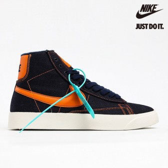 Nike Blazer Mid QS HH Dark Blue/Orange